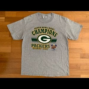 Vintage Green Bay Packers Super Bowl XXXI T-Shirt